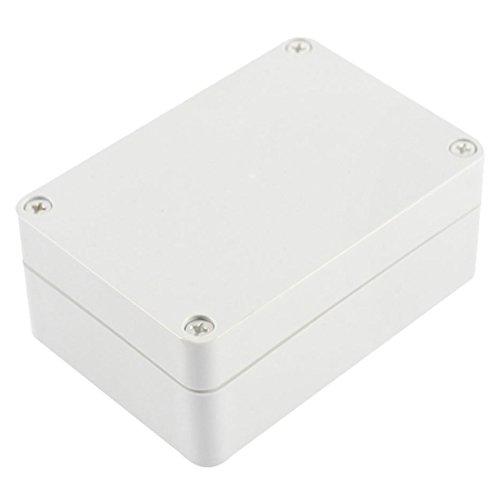 Caja de conexiones impermeable - TOOGOO(R) Caja de proyecto electronico de conexiones de plastica de cubierta transparente impermeable 82x58x35mm