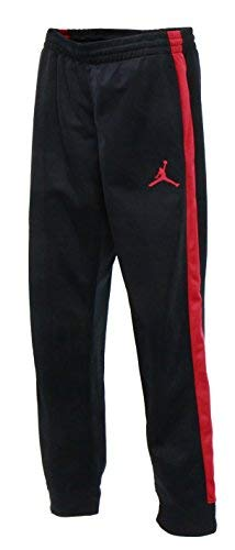 NIKE Boys Jordan Track Warm-up Pants - Black Large