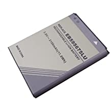 3,80V 3100mAh Batterie de remplacement pour Samsung GT-N7100, GT-N7102, GT-N7105, Galaxy Note II, Galaxy Note II LTE, Galaxy Note II N7100, N7100, N7102, Note 2, SGH-I317M Smart Handy Batterie, passt pour Batterietyp EB595675LU