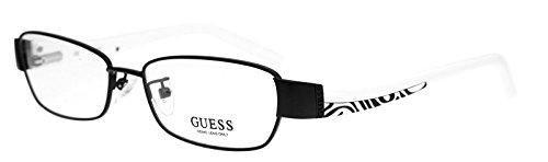 Guess Brille GUA 2262 BLKWHT 52 Brillengestell Glasses Frame Damen UVP 125EUR