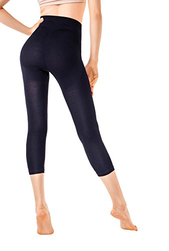 MD Sport Leggings Shapewear Kleid Body Shaper Mieder Figurformer Miederhöschen Schwarz