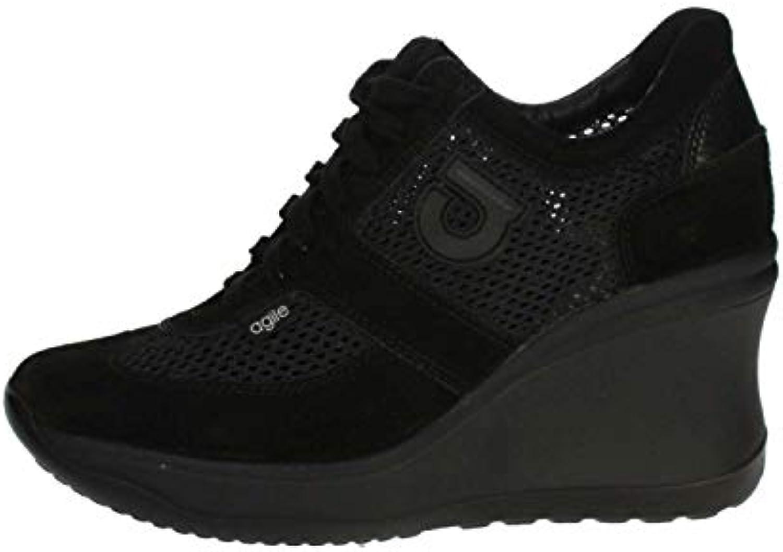 AGILE BY RUCOLINE 1800 scarpe da ginnastica Donna Nero Nero Nero 34 | Più economico del prezzo  e0b085