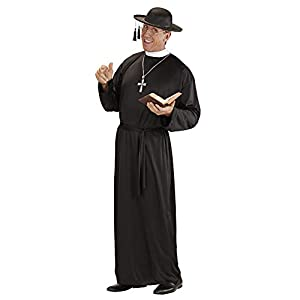 """WIDMANN Mens Sacerdote vestuario grande del Reino Unido 42/44""""para Vicario Sacerdote Iglesia del vestido de lujo"""