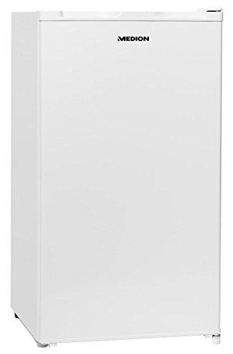 MEDION MD 37242 Kühlschrank mit Eiswürfelfach/93 L Nutzinhalt/A+/Türanschlag wechselbar/weiß