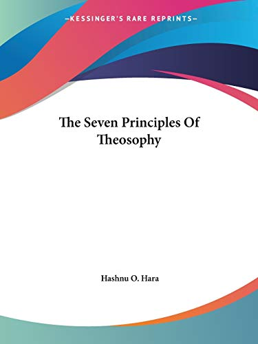 The Seven Principles of Theosophy PDF Books