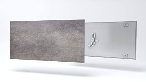 Fenix Ecosun Natural Calefacción por infrarrojos, 400W, piedra marone, pared calefactora, Radiador, Eléctrico, 5437134