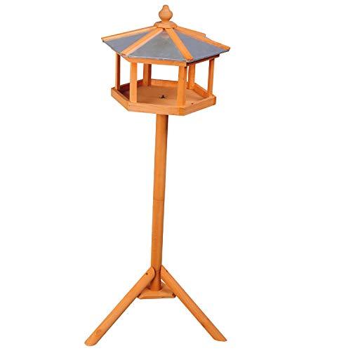 PawHut Vogelhaus mit Ständer und Zinkdach - 3