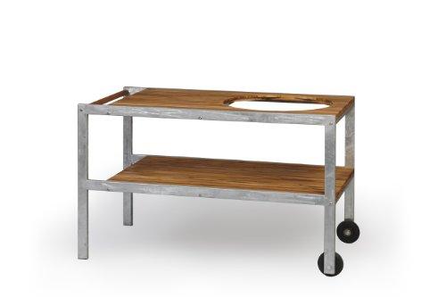 Monolith Grill - Tisch aus Teak mit Metallrahmen thumbnail