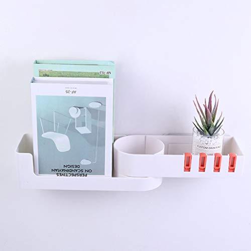 Preisvergleich Produktbild Wandregal Ablageregal,  nahtlos,  Eckregal für Schlafzimmer,  Badezimmer,  Küche,  drehbar,  tragbar,  kann versteckt werden,  vergrößern Sie Ihren Platz,  UK 2019 Die neuen Regale