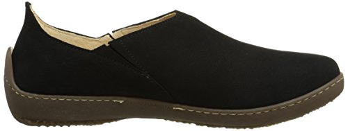 El Naturalista Nd80 Bee, Mocassins femme Schwarz (Black)