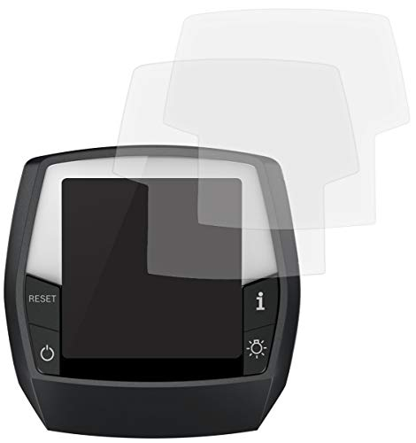 honju Bike Anti-Reflex Displayschutzfolie für Bosch Intuvia eBike Display [2 Stk Made in Germany 100{b4749961f018d9ad25a87566f033fb183961ca42ad6dafd53cb45d6ee6c4a06c} passgenau, verbesserte Lesbarkeit, hält ohne Kleber, gegen Kratzer & Schmutz]
