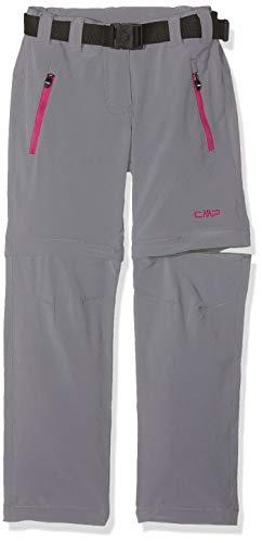 CMP Mädchen Zip Off Hose Grey 140