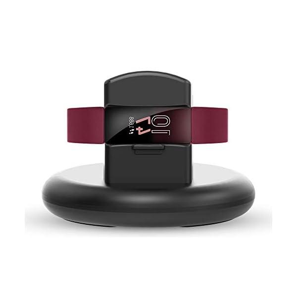 KIMILAR Cargador Compatible con Fitbit Inspire/Inspire HR Cable, 80° Base de Carga USB Repuesto Cargador para Inspire… 2