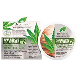 Dr Organic Mascarilla Capilar Hemp Oil 200 ml