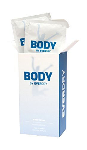 everdry Antitranspirant Body Tücher, 1er Pack (1 x 10 Stück)