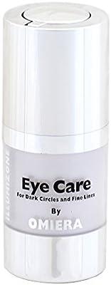 omiera Labs illumizone–oscuro círculo crema, tratamiento de las ojeras, Antienvejecimiento Suero
