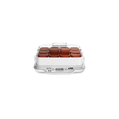SEB Yaourtière Multi Delices Express Marron 600W 12 Pots YG661A00