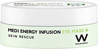 WONJIN EFFECT Medi Energy Infusion Eye Mask 60ea - revitalizing,soothing hydrogel patches for delicate skin around the eye! - Korean skincare cosmetics, eye care, hydration, anti-aging, revitalizing -