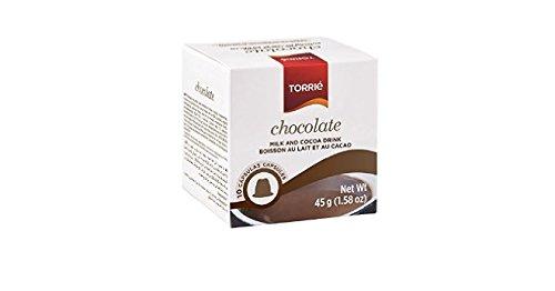 Purchase TORRIE - CHOCOLATE - Nespresso Compatible Capsules - 4 x 10 caps / box - 40 caps TOTAL by Torrié Cafés, Portugal
