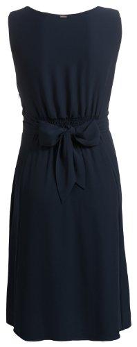 Noppies Damen Umstandsmode Kleid 70459, V-Ausschnitt Comfort Fit (Weitere Farben) Blau (dark blue 46)