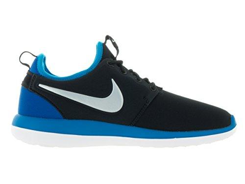 Nike Roshe Two (Gs), Chaussures de Running Entrainement Homme Noir (Black (noir / platine-photo MTLC bleu))
