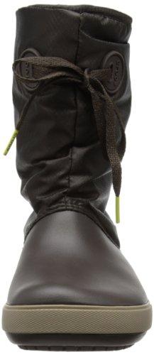 Crocs, Crocband II.5 Lace Boot W, Stivali, Donna Marrone (Espresso/Mushroom)