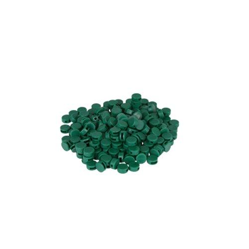 Preisvergleich Produktbild 250 St. Kunststoffplomben grün 8 mm