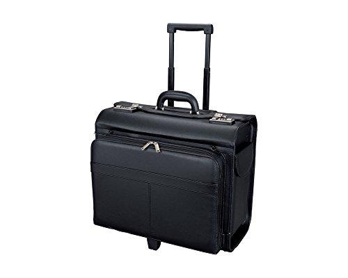 ALASSIO Pilotenkoffer Notebookkoffer SAN REMO schwarz