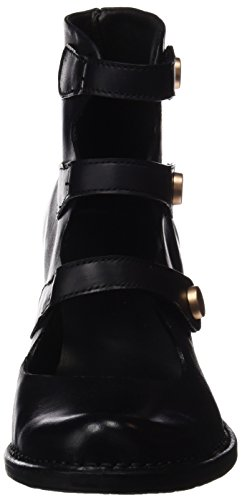 Neosens S867 Restored Skin Ebony Rococo, Bottes Classiques Femme Noir (Ebony)