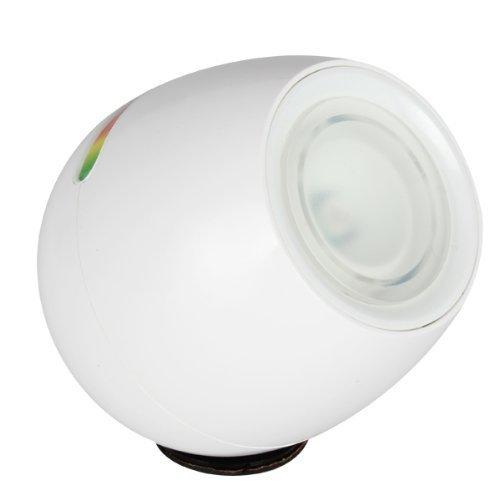 Eplze LED Humeur Lumière USB Rechargeable Bureau Lampe avec 256 Vivant Couleur Toucher-Sensible Chevet Lampe Chambre Décoration Nuit Lumière (Blanc)
