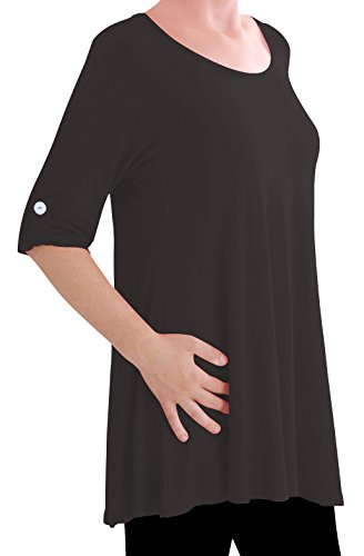 eyecatch-tm-oversize-jessica-damen-langes-tunika-top-schwarz-gr-48