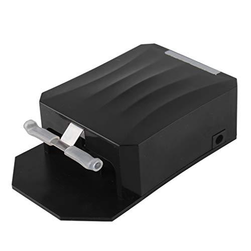 Laptop PC Cooler LED-Anzeige, Laptop-Lüfter USB Powered, Notebook-Kühler Lüfter Einstellbare Windgeschwindigkeit, Laptop Air Extractor Staubsauger Leise Für Schnelle Kühlung Gaming Notebooks Und Pcs Schwarz