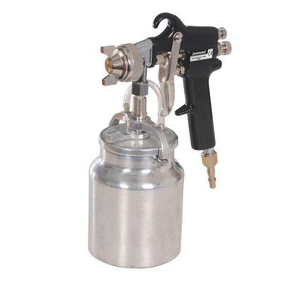 Pistolet pulverisateur à peinture pro pour compresseur REF 763556