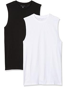 New Look Camiseta sin Mangas para Hombre