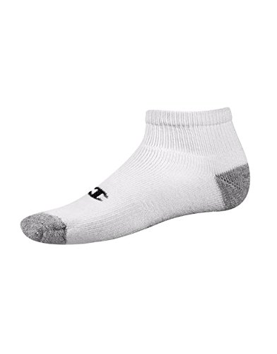 Champion Double Dry® Performance Men's Quarter Socks 6-Pack 10-13 White (6-pack Sock Quarter)