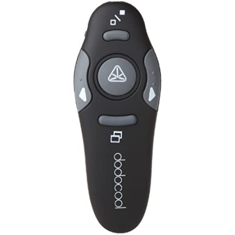dodocool Presenter,Dispositivo per presentazione wireless,Wireless Laser Presenter Mouse