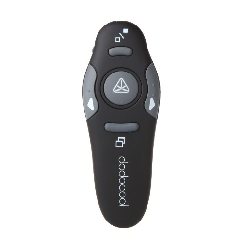 dodocool-24ghz-wireless-cordless-presenter-with-red-laser-pointer-remote-control-range-15m