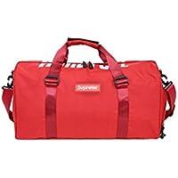 HSDDA Mochila al Aire Libre Oxford Cloth Bolsa de Gimnasio de Gran  Capacidad Sports Holdall Travel 699c4a3c2547b