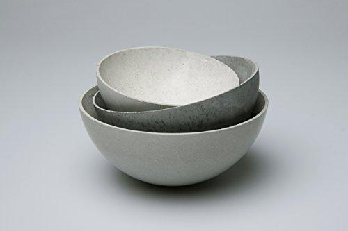 "Preisgünstiges 3er Set Schalen aus Beton Dekoschalen Betonschalen \""Frisch ausgeschalt\"" - filigran, modern, ein tolles Geschenk!"