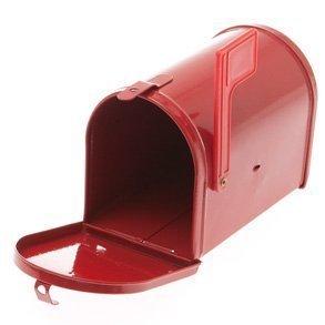 Fun Express Little Red Tinplate Mailbox by Everready First Aid (Mailbox Fun)