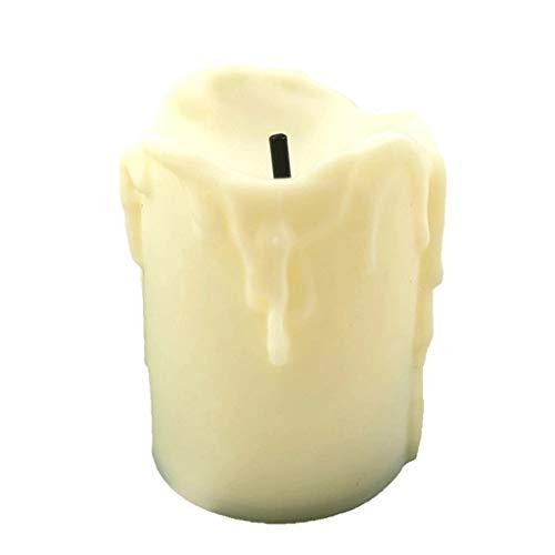 Mini Elektronische Candle Light Familie blinkende LED Batterie Flameless Smokeless romantische Geschenk-Candle Light (Color : Yellow)