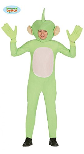 grüner Alien - Kostüm für Herren Gr. M/L, Größe:L