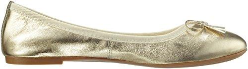 Marco Tozzi Premio Damen 22118 Geschlossene Ballerinas Gold(Platinum 957)