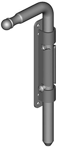 Verrou baionnette - platine à visser de 35mm - H440