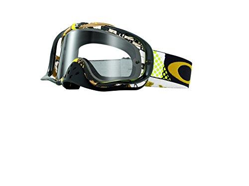 Maschera Mx Oakley Snowcross Mosh Pit Oro - Clear (Default , Oro)