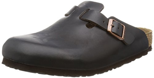 Birkenstock Boston, Sabots mixte adulte Marron (Brown)