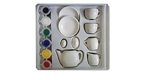 Sterling Children Create Paint Your Mini Tea Set