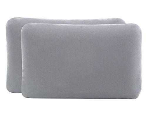 Doble pack fundas almohada Paquete 2 almohadas viaje