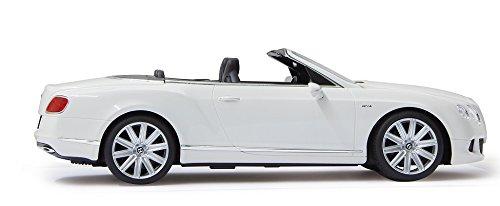 RC Auto kaufen Spielzeug Bild 2: RC Bentley Continental GT Speed Convertible (Cabrio) - schwarz oder weiß - Maßstab: 1:12 - LED-Licht - ferngesteuert, inkl. allen Batterien - RTR - LIZENZ-NACHBAU (Weiß 40MHz)*