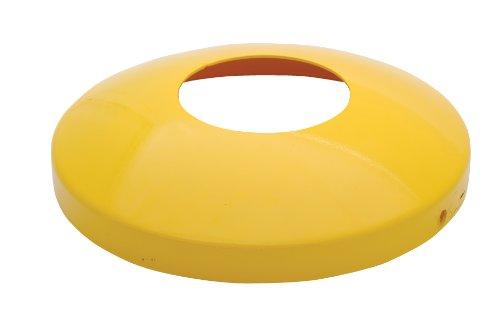 vestil dome-5.5Schutzhülle Dome Cover für 5-1/5,1cm Poller für LP Tank Drum, Stahl, 35,6cm OD, 7,6cm Höhe - Lp Tank Cover